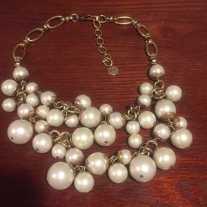 Stella and Dot Pearl Statement Necklace